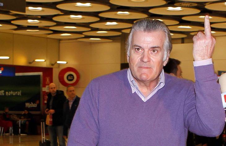 Luis Bárcenas, famoso por sus papeles