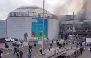 Caos en Bruselas: explosiones en el aeropuerto y el metro