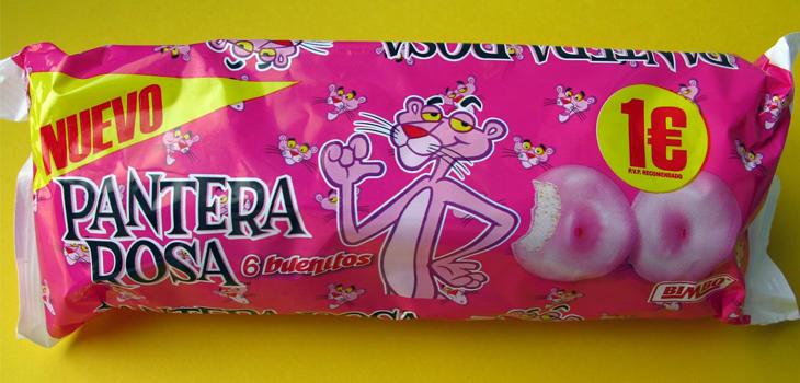 La Pantera Rosa es un gran reclamo para comprar este bollo