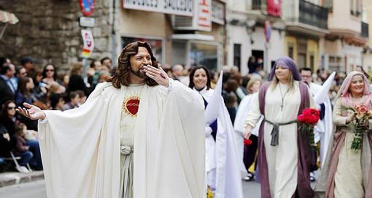 Ramón Fossati en el desfile de 2015