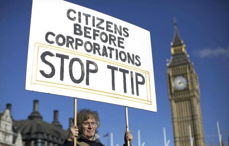 Los ciudadanos antes que las corporaciones. Paren el TTIP