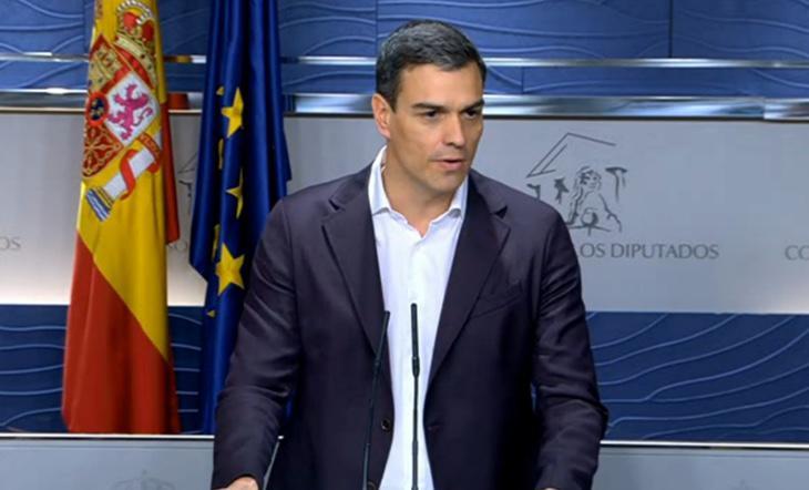 Pedro Sánchez agradece el cambio de actitud de Pablo Iglesias