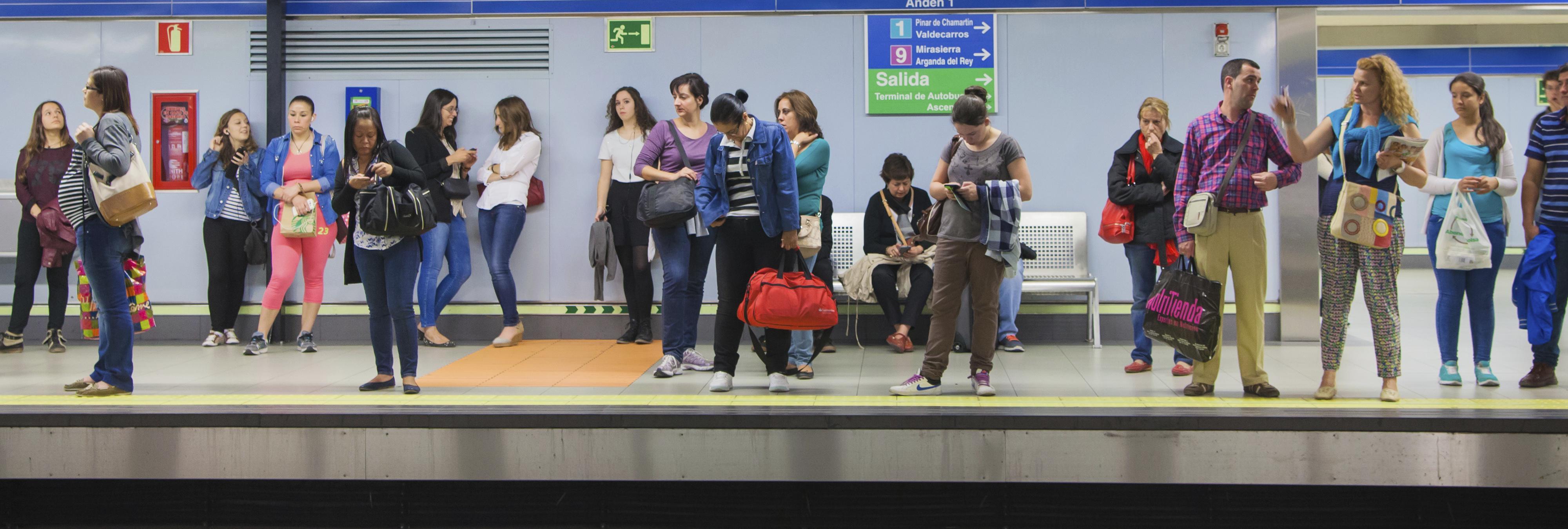 El Metro de Madrid es desalojado por un error informático