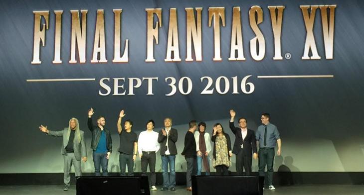 30 de septiembre de 2016 será la llegada de 'FFXV'