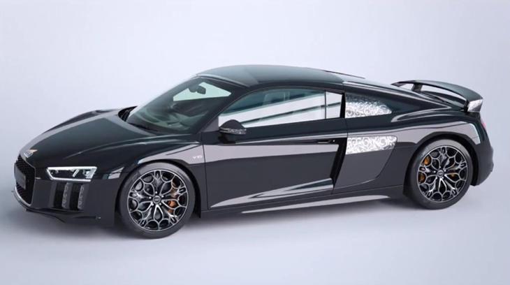 El Audi único que cualquier fan de 'Final Fantasy' querría conducir