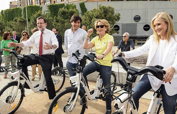 Esta marcha ciclista parece más peligrosa