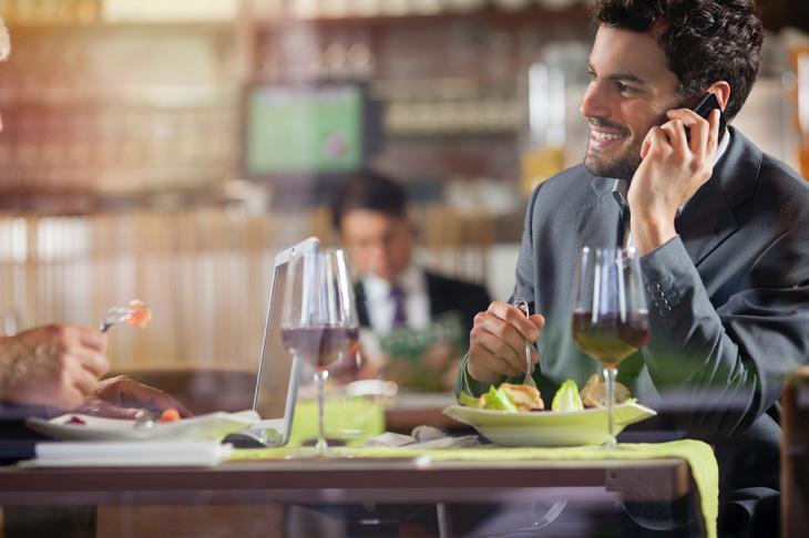 En España, las comidas copiosas y con calma