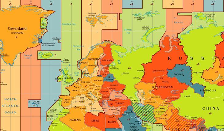 España no está en el huso horario que le corresponde