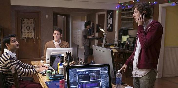 Los chicos de 'Silicon Valley' jugando en multiplayer