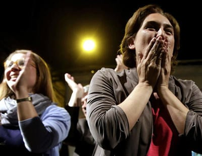 Municipales 2015: por fin llega el cambio. A la sonrisa cínica de Esperanza Aguirre.
