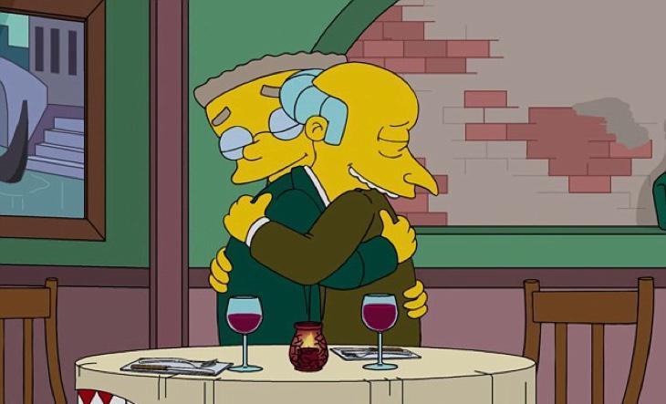 Burns se da cuenta de lo que echa de menos a Smithers