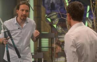 Pablo Iglesias finalmente 'poda' España en 'El Hormiguero'