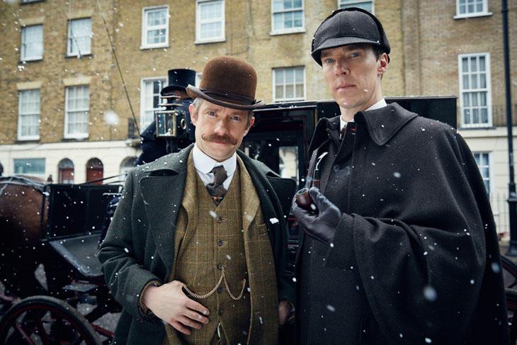 Los episodios de 'Sherlock' suelen salir cada 800 años