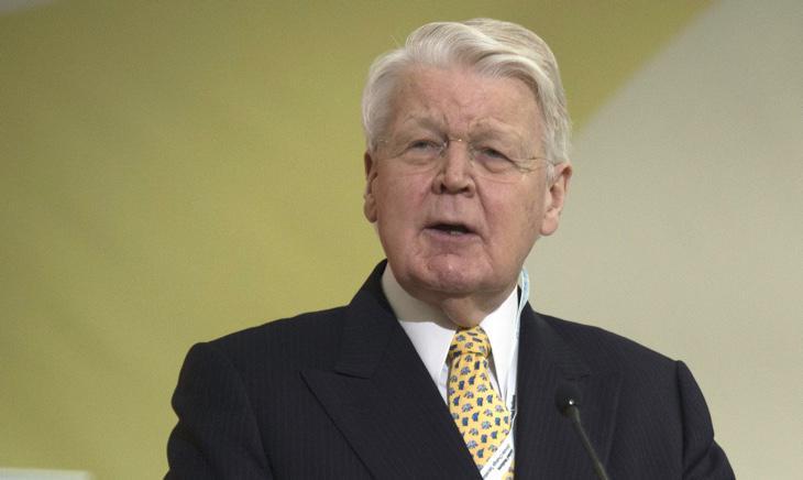 Grímsson, presidente de Islandia desde 1996