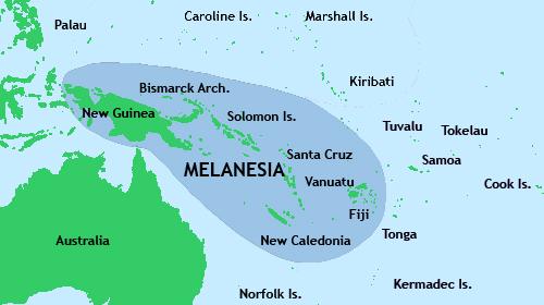 Melanesia, Oceanía
