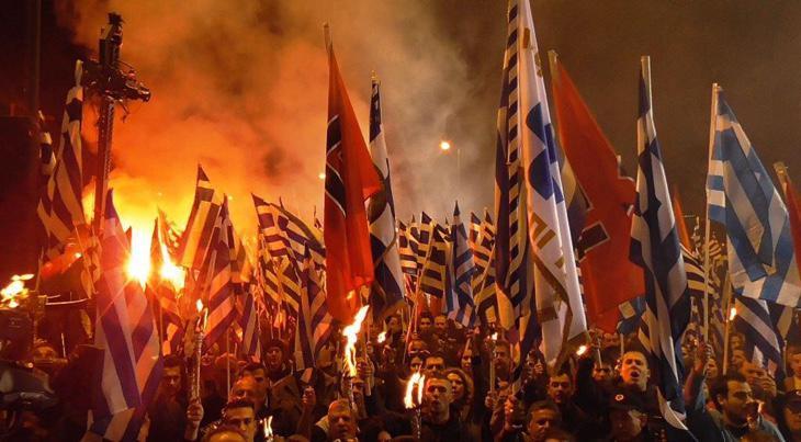 Amanecer Dorado, empatado como tercera fuerza de Grecia