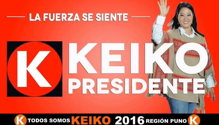 Keiko Fujimori ha ganado en los primeros comicios de las elecciones peruanas de 2016