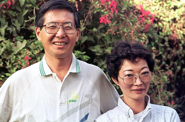Alberto Fujimori, expresidente de Perú, y su exmujer Susana Higuchi, padres de la actual candidata