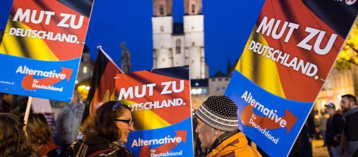 Alternative für Deutschland gana fuerza en algunos de los Estados