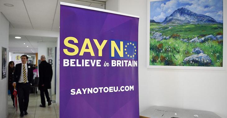 El 'no' a la UE, una de las principales consignas del UKIP