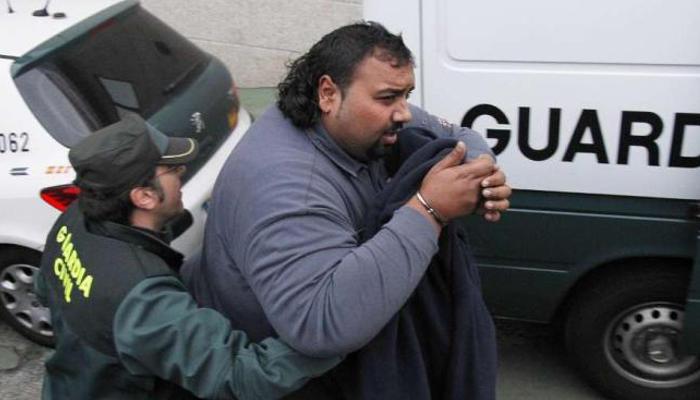 Sinaí Giménez, detenido por la Guardia Civil