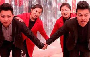 Dos gemelos casados con dos gemelas recurren a la cirugía plástica para poder diferenciarse