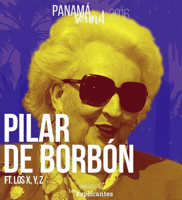 ¡Pilar de Borbón confirmada!