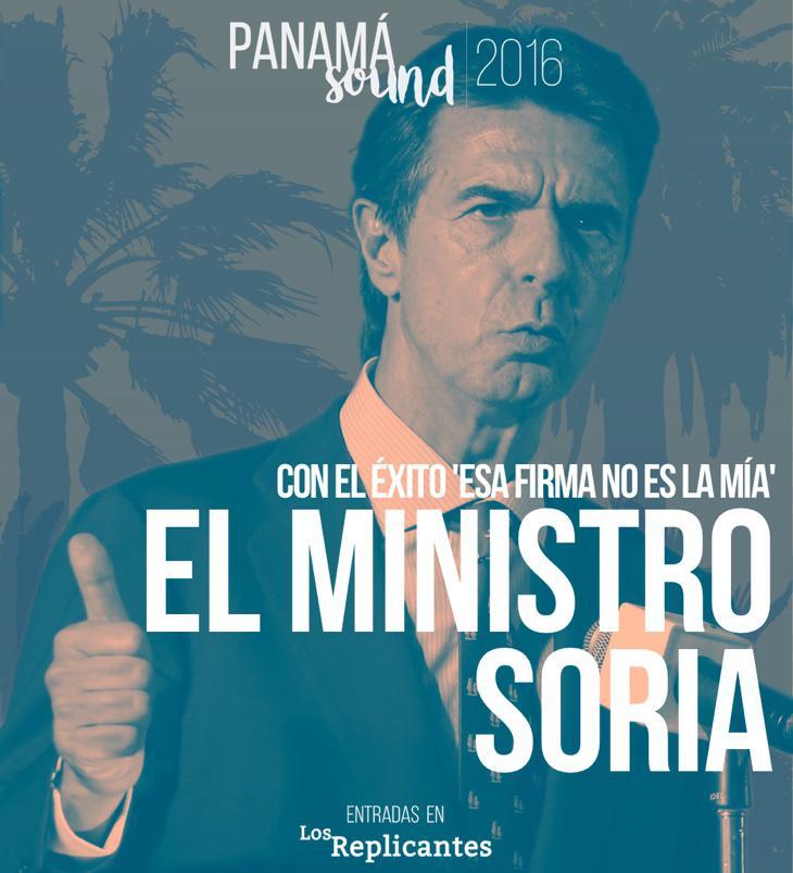 El Ministro Soria será alojado en una lujosa mansión por 30 euros