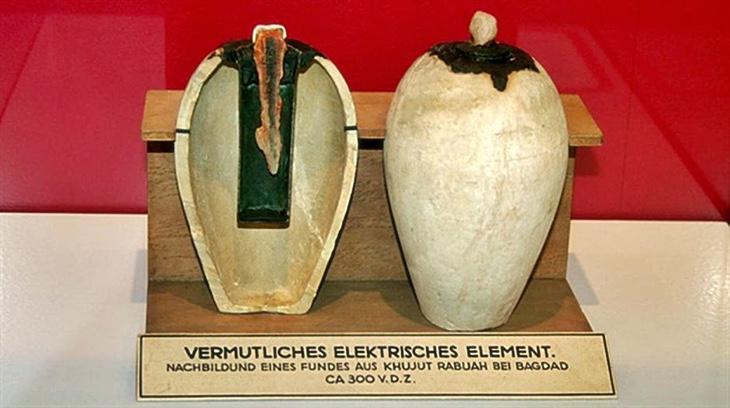 La vasija-batería por fuera y por dentro