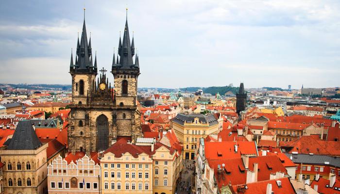 El Reloj Astronómico de Praga es uno de los símbolos más representativos de Chequia