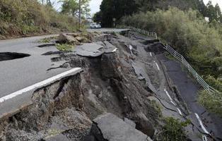 Los terremotos de Kumamoto (Japón) y Ecuador en imágenes