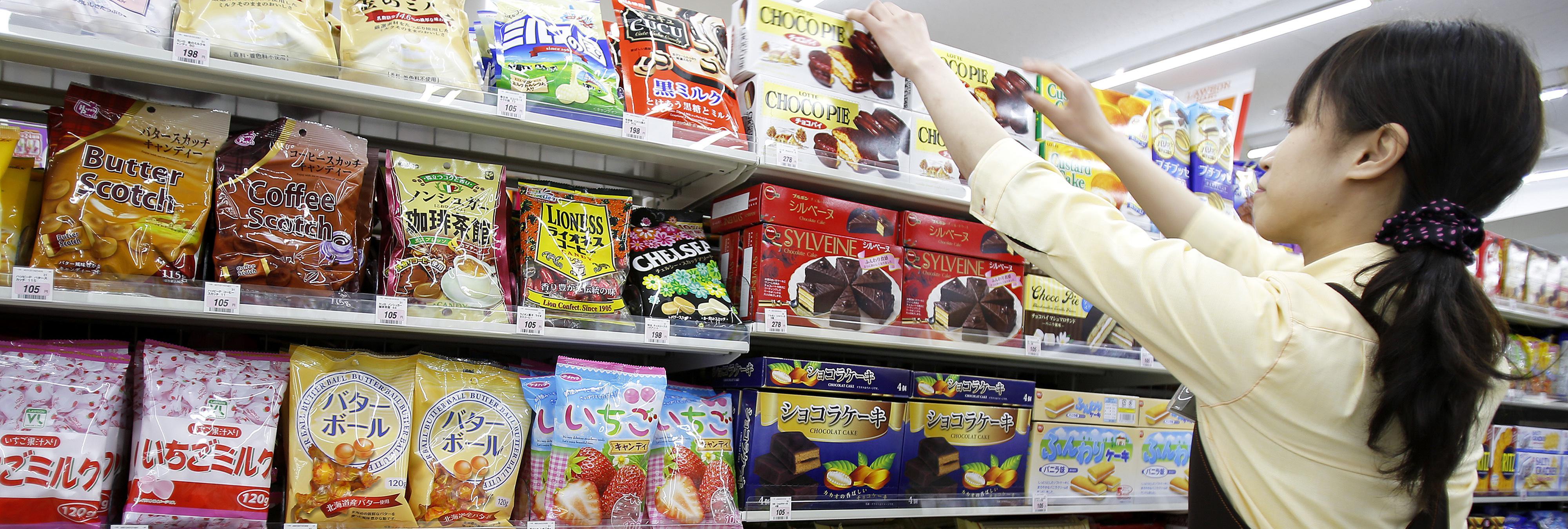 Los dulces más curiosos y raros que hemos encontrado en Japón
