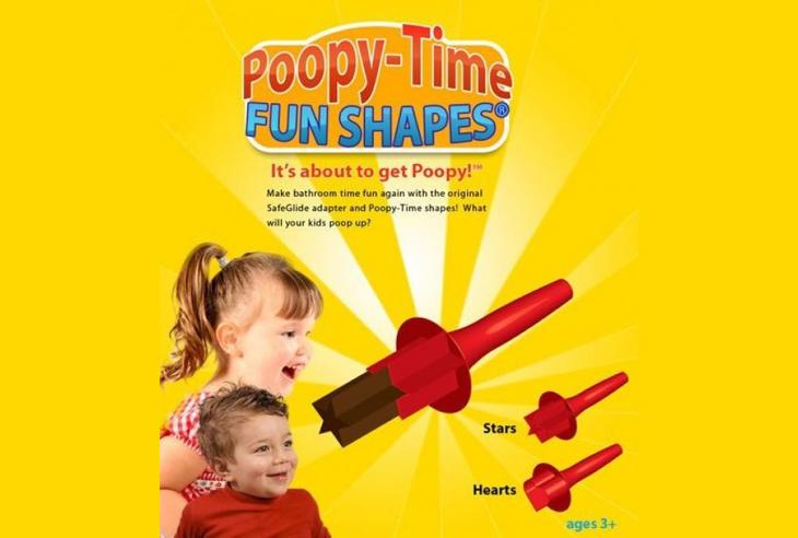 Poopy-Time, para personalizar la forma de las caquitas