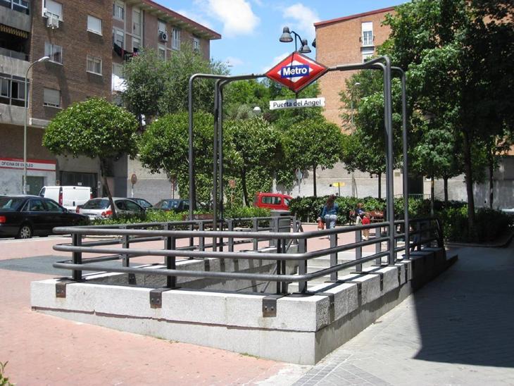 La estación Puerta de Ángel de Madrid
