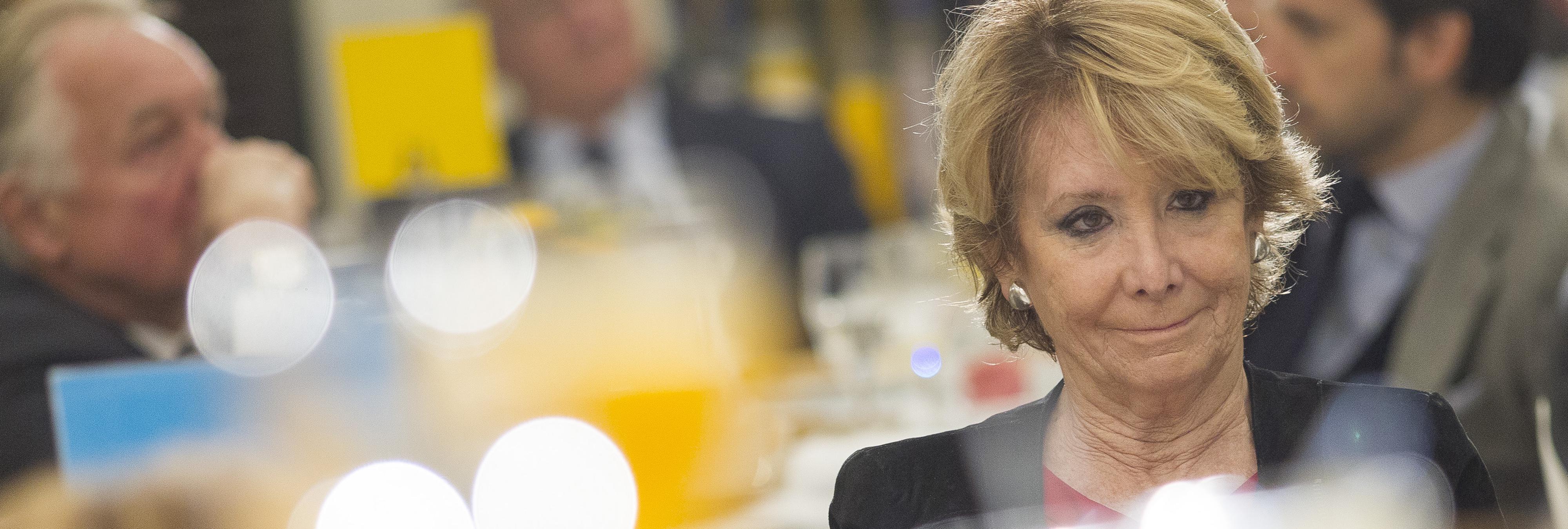 Esperanza Aguirre pide la dimisión de Montoro
