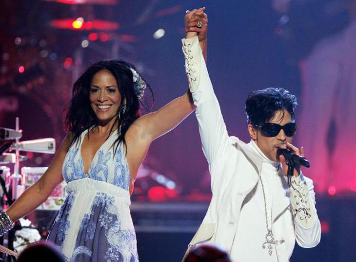 Prince con Shelia E.
