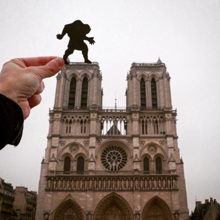 Quasimodo en Notre-Dame