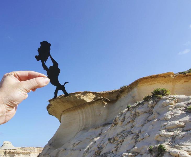 Rafiki y Simba en Malta