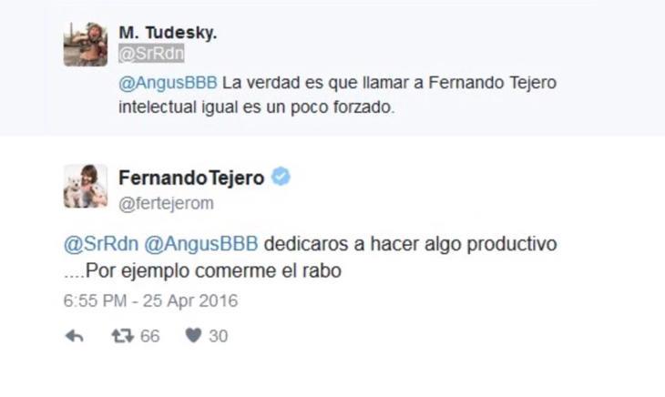 Fernando Tejero contra Twitter