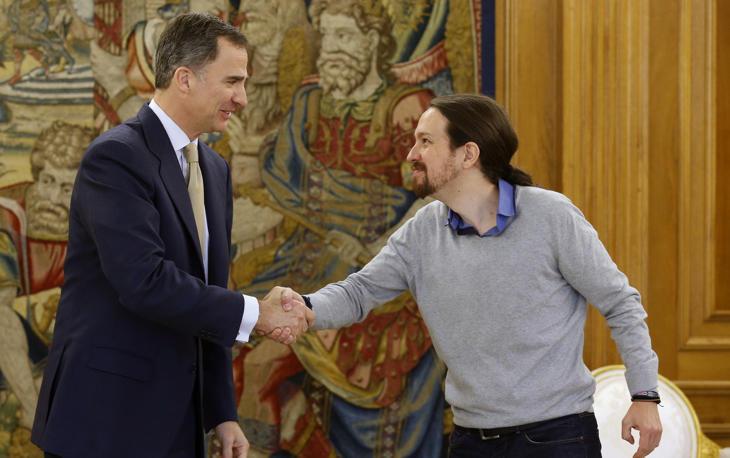 Iglesias ha llegado tarde a su encuentro con Felipe VI tras perderse por el camino a Zarzuela