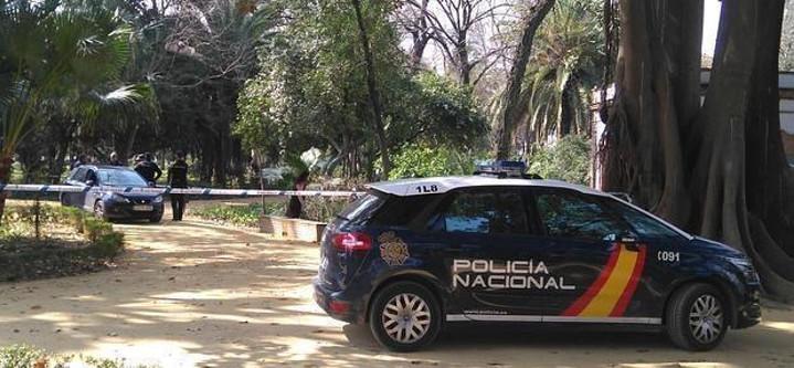 La Policía en el lugar del crimen