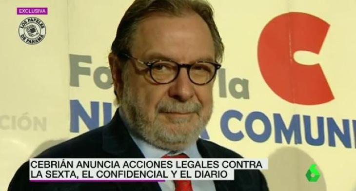 Juan Luis Cebrián, presidente del Grupo Prisa