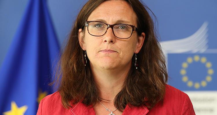 La comisaria de Comercio Internacional, Cecilia Malmström