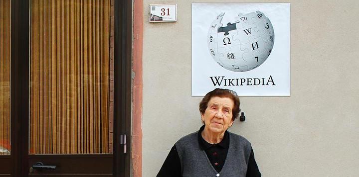 Wikipedia es una señora llena de sabiduría