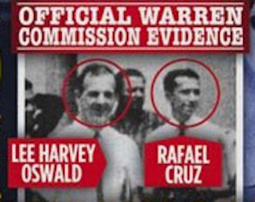 La fotografía entre Lee Harvey Oswald y el supuesto Rafael Cruz