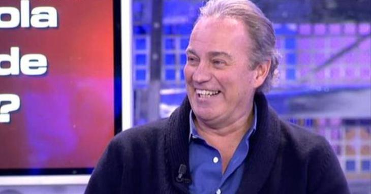 Bertín, visiblemente sonriente durante su visita a 'Sálvame'
