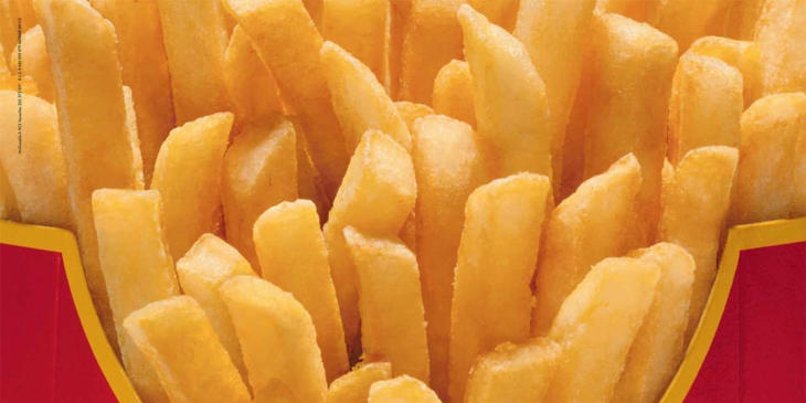 ¡Barra libre de patatas fritas!