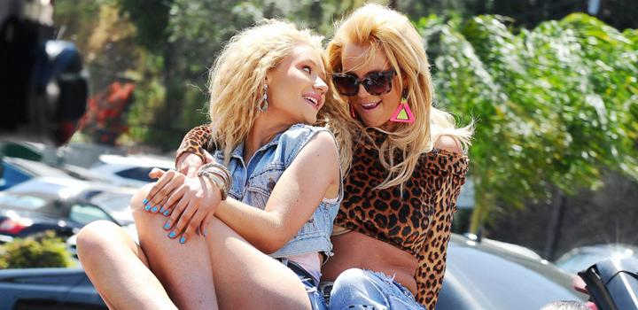 Iggy y Britney, 'pretty girls'