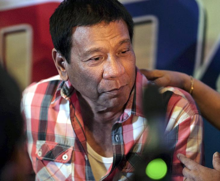Duterte, ex alcalde de Davao y actual presidente de Filipinas