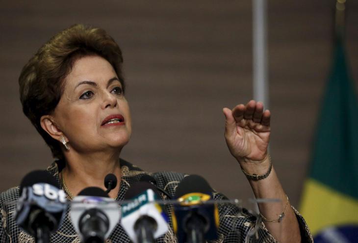 Dilma Rousseff lo tenía todo bajo control.